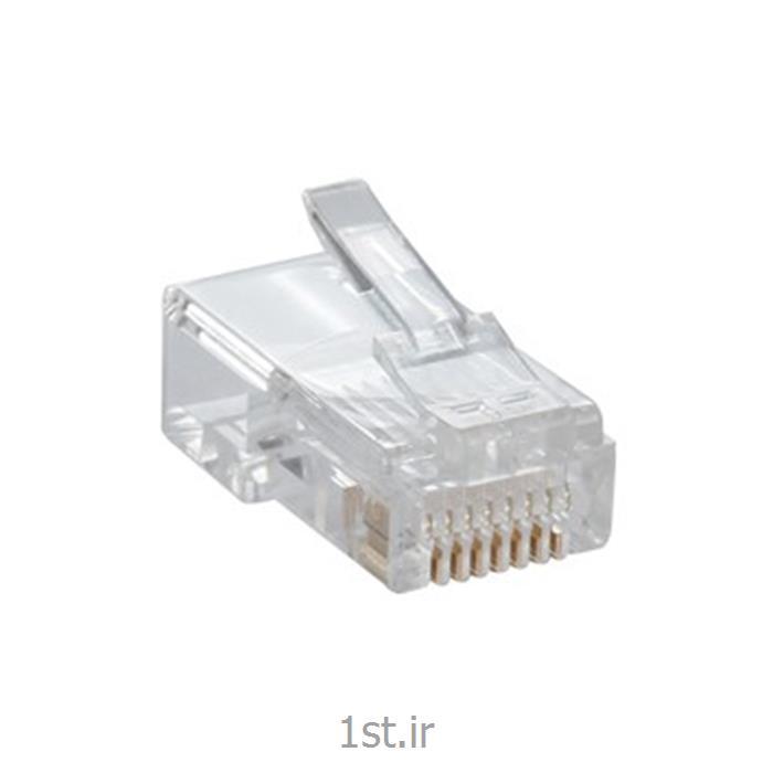 عکس کابل و کانکتور کامپیوترکانکتور CAT5 NPG-5E1TRA501 Modular Plugs
