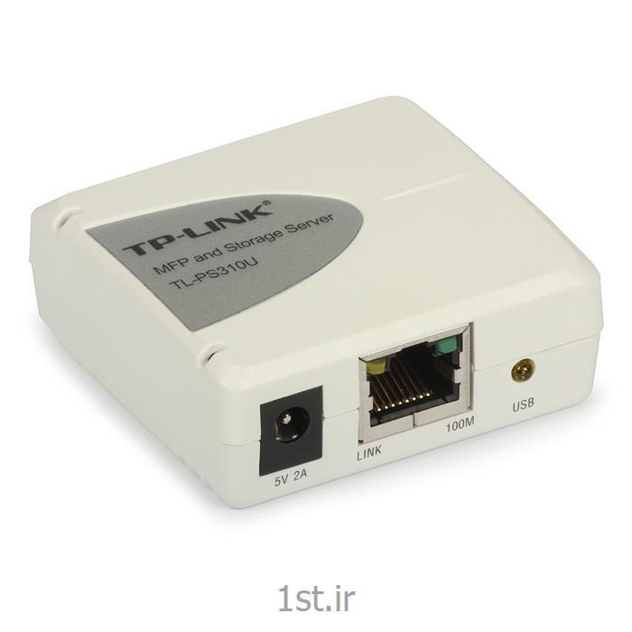 عکس سرور چاپ (پرینت سرور)پرینت سرور Print Server تی پی لینک tplink TL-PS310U