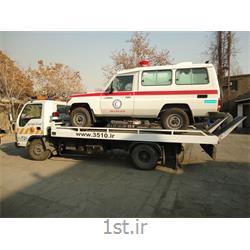 عکس حمل و نقل خاصحمل آمبولانس با خودروبر کفی