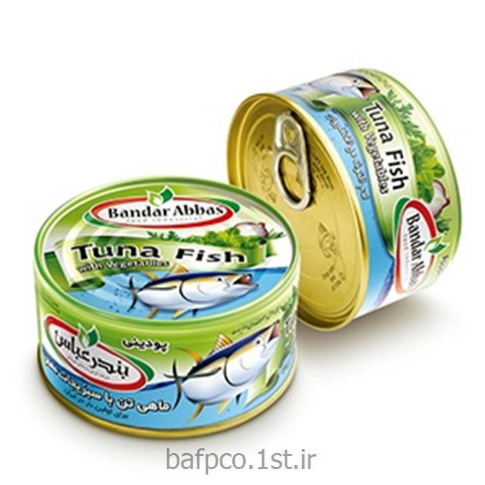 عکس کنسرو ماهی کنسرو ماهی تن با سبزیجات معطر ( پودینی) بندرعباس