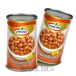کنسرو خوراک لوبیا چیتی بندر عباس