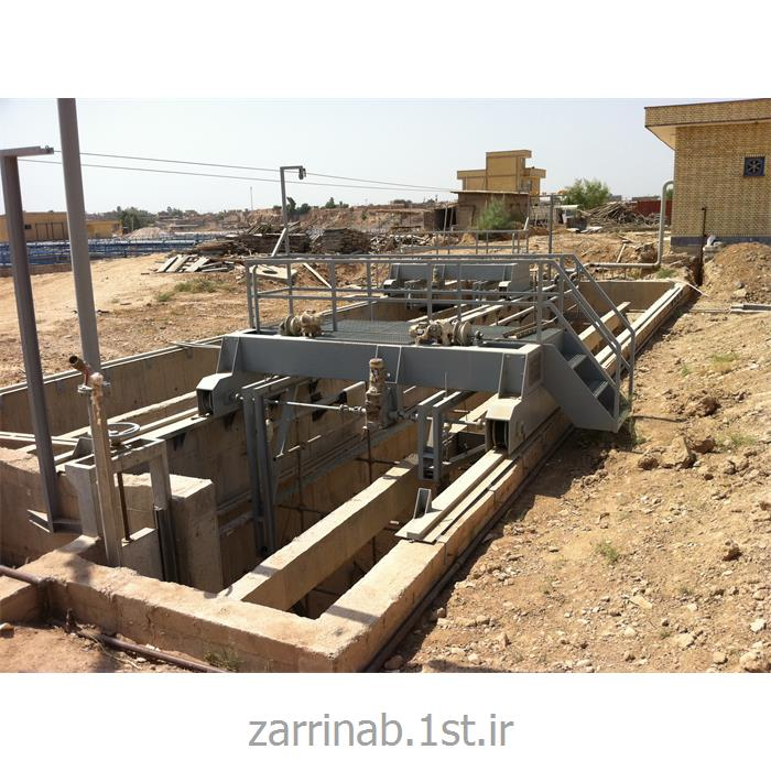 پل دانه گیر Grit chamber bridge