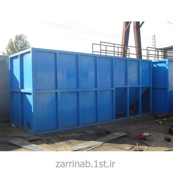 پکیج تصفیه فاضلاب بهداشتی و صنعتی ظرفیت 5 الی 600 متر مکعب