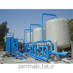 عکس فیلتر آبفیلتر شنی تحت فشار ساخت شرکت زرین آب ژرف