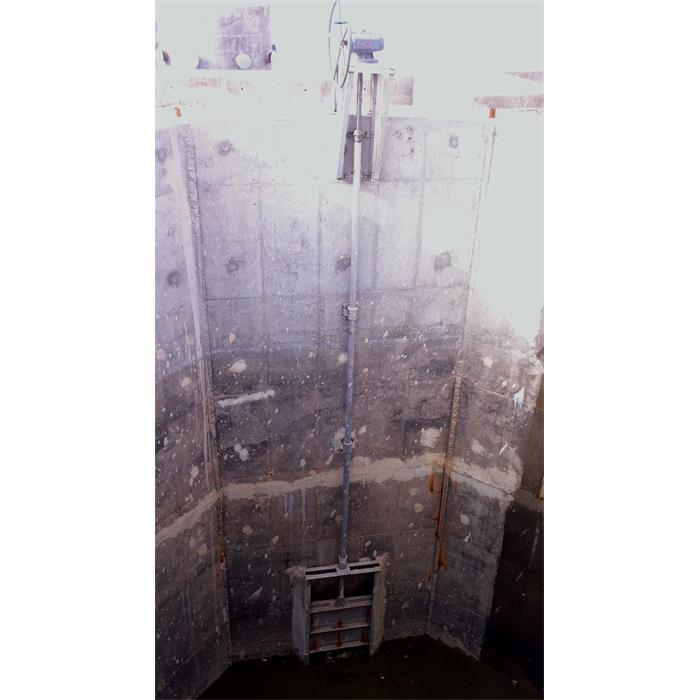 عکس مدیریت فاضلابدریچه های چهار طرف آب بند