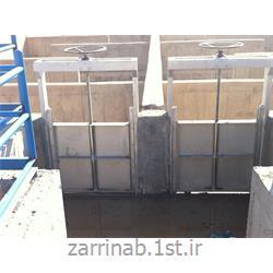 عکس مدیریت فاضلابدریچه کنترل سه طرف آب بند