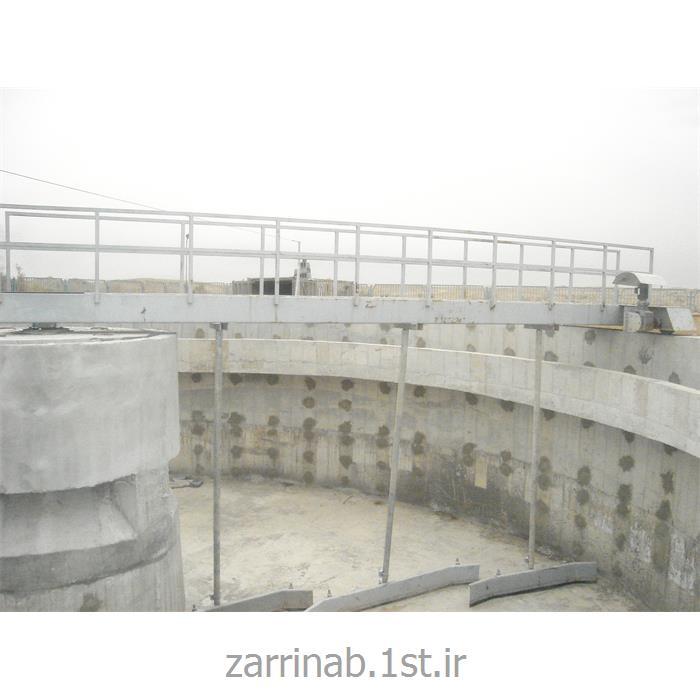 پل زلال ساز بخش ته نشینی Clarifier bridge