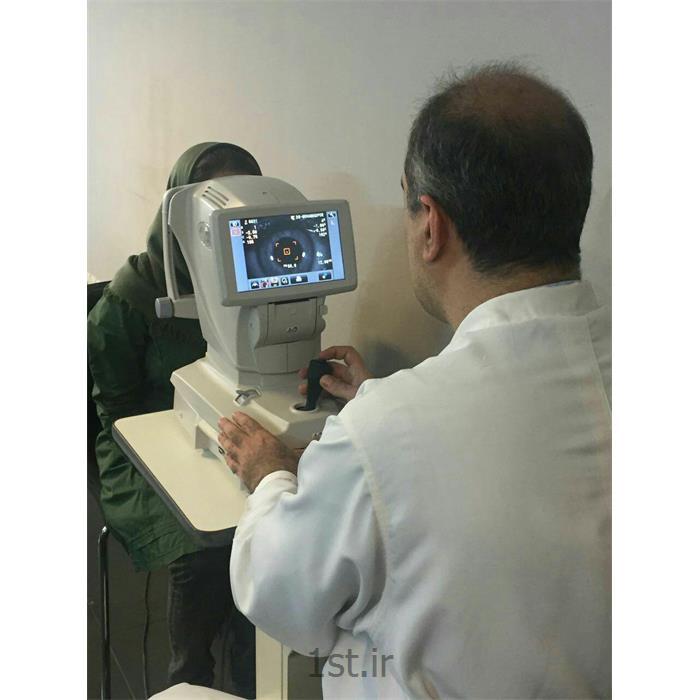 عکس تشخیص و درمان درداتور فرکتومتر تعیین نمره چشم
