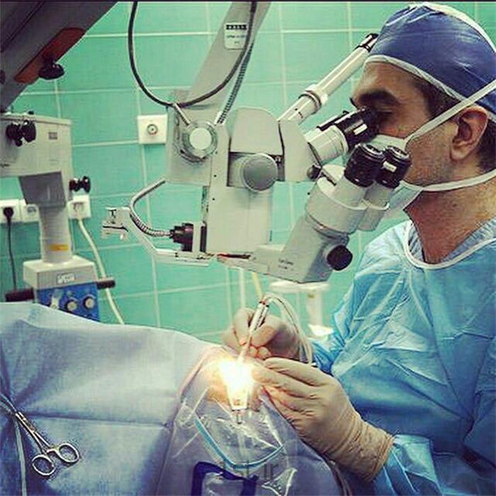 عکس جراحیجراحی آب مروارید بدون بخیه و بیهوشی (فیکو)