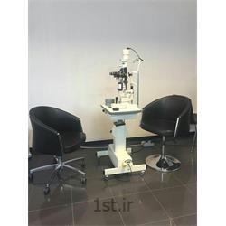 معاینه فوق تخصصی کامل چشم با slit lamp