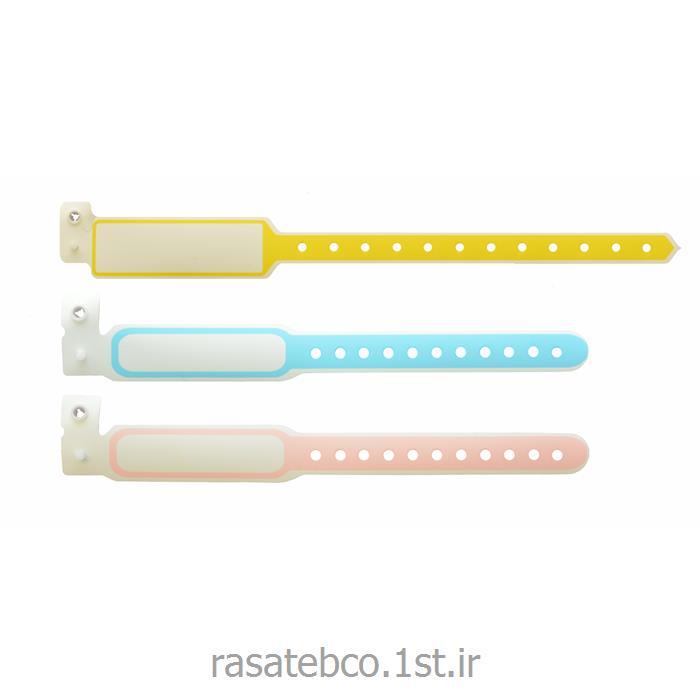 دستبند پلاستیکی ساده قابل نوشتن روی آن مدل 130L
