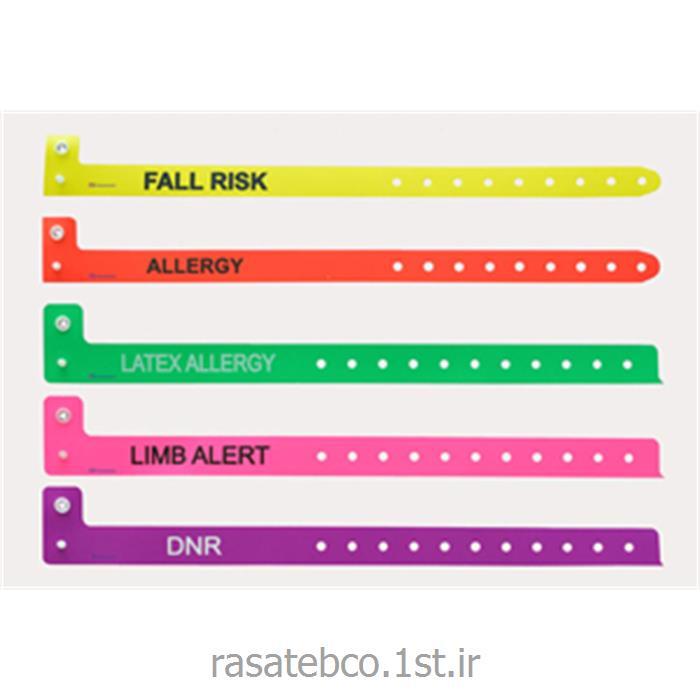 دستبند شناسایی بیمار علائم هشدار بالینی مدل 130A