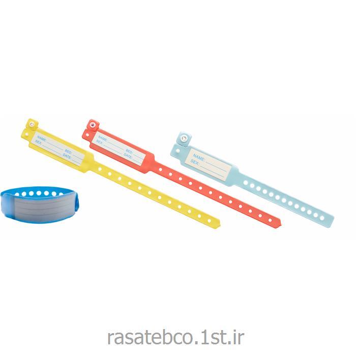 دستبند بیمار با لیبل مشخصات مدل 130C