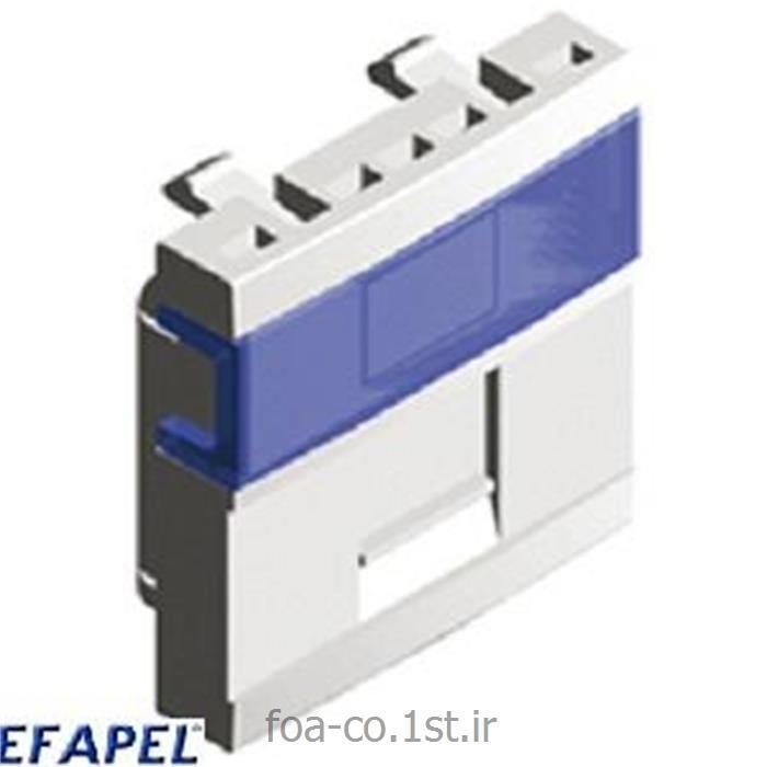 عکس سایر سخت افزارهای شبکهفیس پلیت ایفاپل EFAPEL Face plate 45976SBR