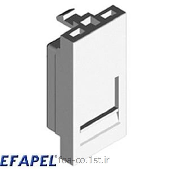 عکس سایر سخت افزارهای شبکهفیس پلیت ایفاپل EFAPEL Face plate 45977SBR