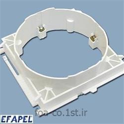 عکس کلید و پریز برقفریم پریز استاندارد 60*60-10984ABR ایفاپل(EFAPEL)
