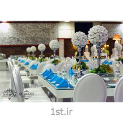 عکس لوازم برگزاری مراسم عروسیمنوی vip تالار عرشیا