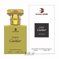 ادوپرفیوم گالاردو مردانه مدل CARTIER PASHA حجم 30 میلی لیتر