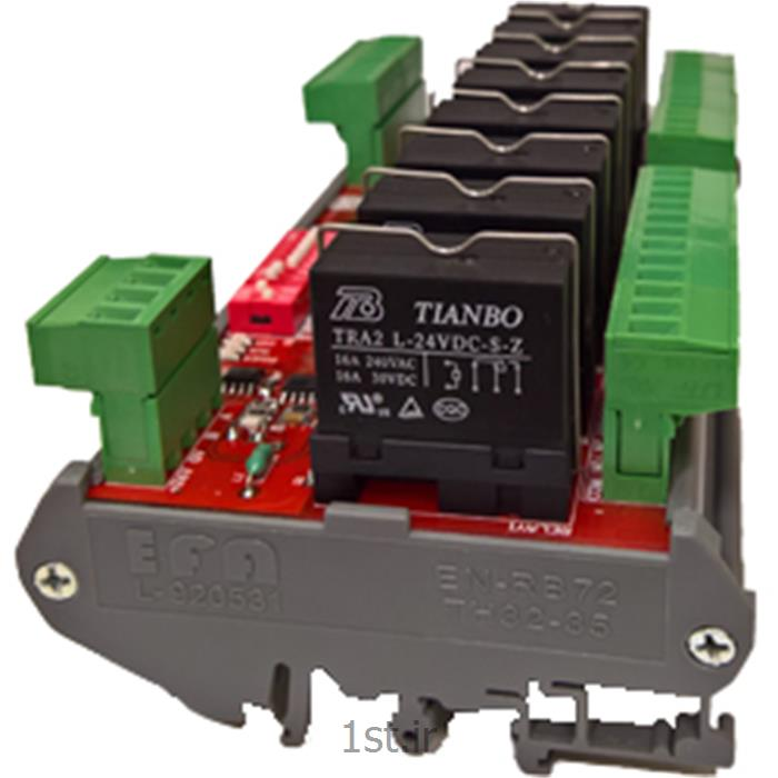 کارت شبکه ریموت 8I/O خروجی