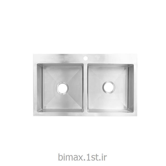 سینک ظرفشویی بیمکث مدل BS722 توکار