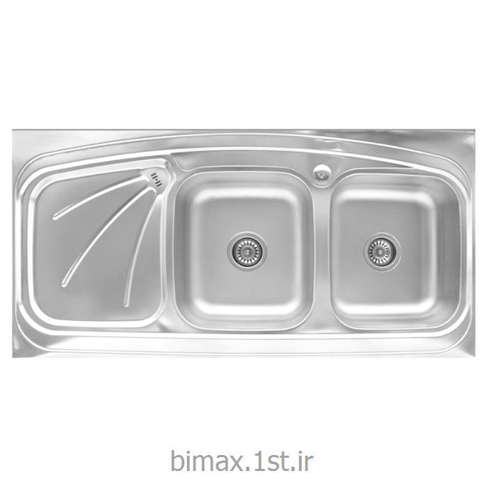 سینک ظرفشویی بیمکث مدل BS514 روکار