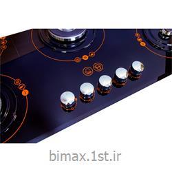 اجاق گاز  بیمکث مدل MG0066 طرح رویال نارنجی