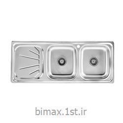 سینک ظرفشویی بیمکث مدل BS 512 توکار