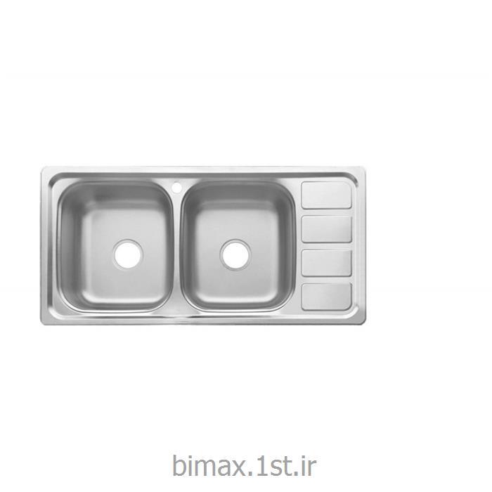 سینک ظرفشویی بیمکث مدل BS 517 روکار