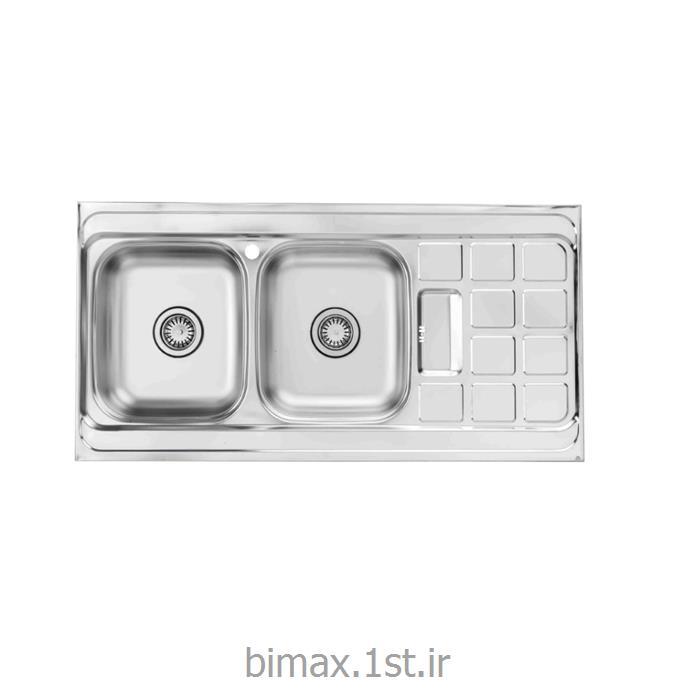 سینک ظرفشویی بیمکث مدل BS 510 روکار