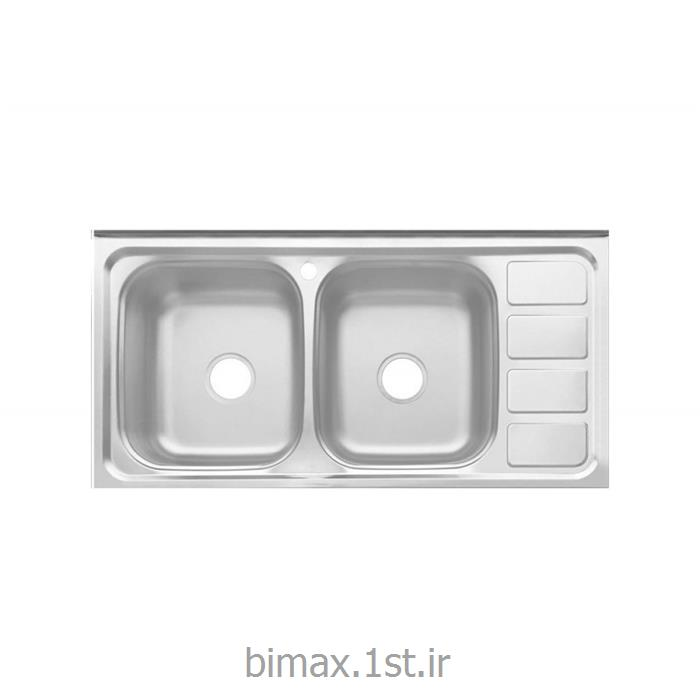 سینک ظرفشویی بیمکث مدل BS 516 روکار