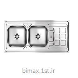 سینک ظرفشویی بیمکث مدل BS920 توکار