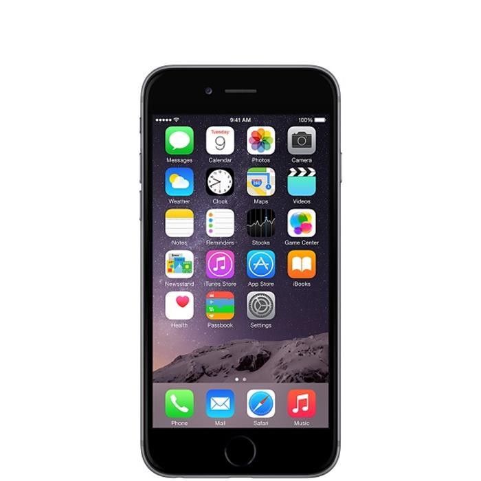 عکس تلفن همراه ( موبایل ) گوشی آیفون مدل 6با صفحه نمایش4.7اینچ(apple iphone 6)