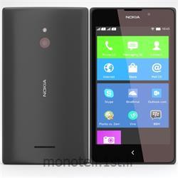 عکس تلفن همراه ( موبایل ) گوشی نوکیا صفحه لمسی (تاچ اسکرین Touch Screen) دو سیم کارته مدل ایکس ال(Nokia XL)