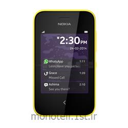 عکس تلفن همراه ( موبایل ) گوشی نوکیا دوسیم کارته مدل آشا 230 با صفحه نمایش 2.8 اینچ (Nokia asha 230)