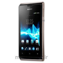 عکس تلفن همراه ( موبایل ) گوشی سونی صفحه لمسی (تاچ اسکرین Touch Screen) دو سیم کارته مدل اکسپریا ایی(Sony xperia e)