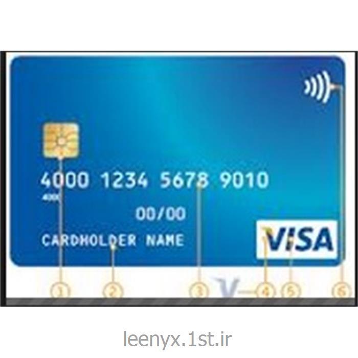 عکس خدمات کارت اعتباریویزا کارت فیزیکی با نام - Visa premium debit card