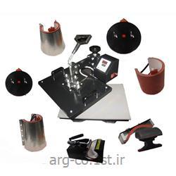 دستگاه چاپ حرارتی هشت کاره مدل UNISTAR