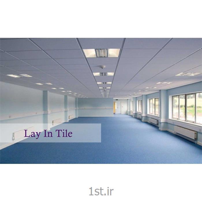 سقف کاذب تایل سازه نمایان 60 در 60