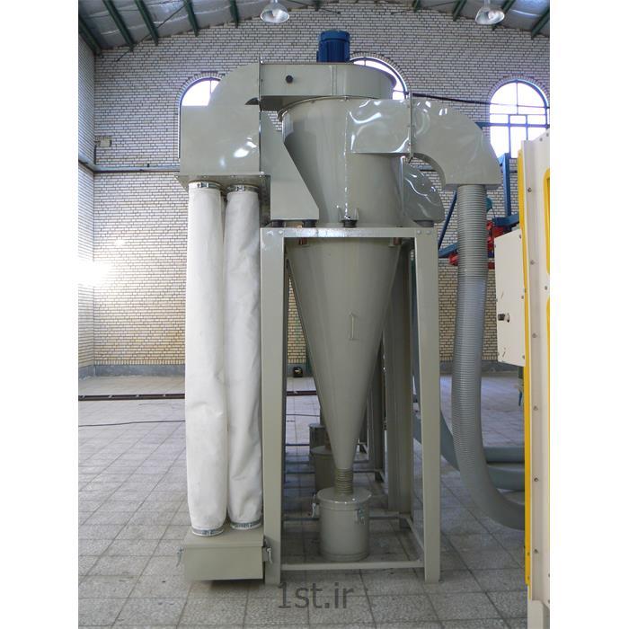 عکس سایر تجهیزات فیلتر صنعتیسایکلون مکش پودر رنگ