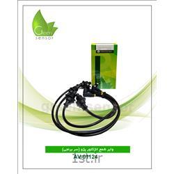 عکس برق موتور خودرووایر شمع پژو سر برنجی (Green sensor)