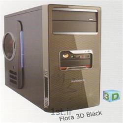 عکس کیس کامپیوترکیس فیورا مدل سه بعدی مشکی - Case Fiora 3D Black