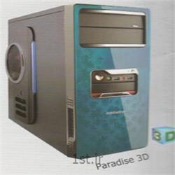 عکس کیس کامپیوترکیس پارادیس مدل سه بعدی - Paradise Case 3D