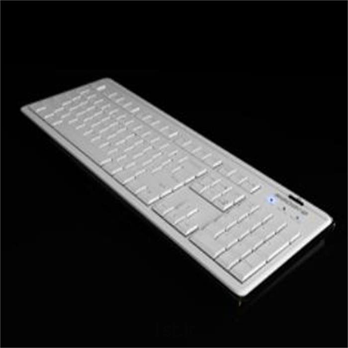 عکس صفحه کلید (کی پد و کیبورد)کیبورد سفید سبرا - Sebra White Keyboard
