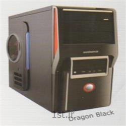 عکس کیس کامپیوترکیس دراگون مدل مشکی - Dragon Case Black