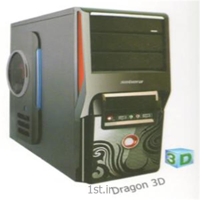 عکس کیس کامپیوترکیس دراگون مدل سه بعدی - Dragon Case 3D