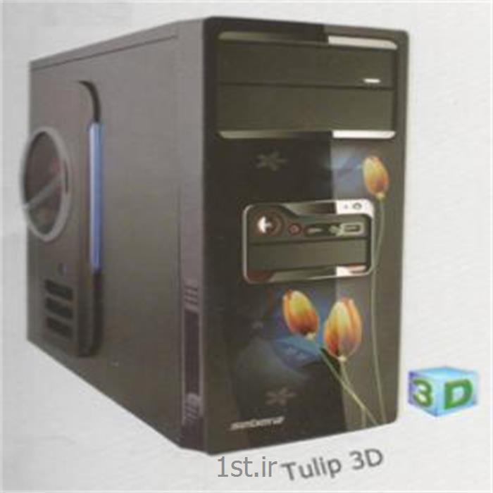 عکس کیس کامپیوترکیس تولیپ مدل سه بعدی - Tulip Case 3D