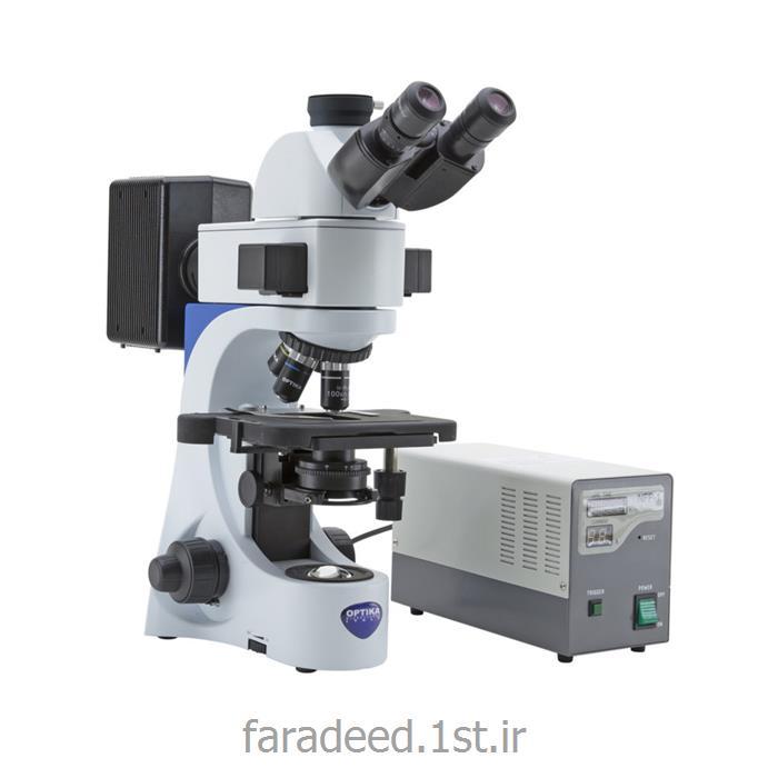 میکروسکوپ فلورسنت مدل B-383FL ساخت کمپانی OPTIKA ایتالیا