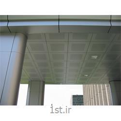 سقف کاذب گالوانیزه مشبک سیستم سازه پنهان 60*60 ژیوان