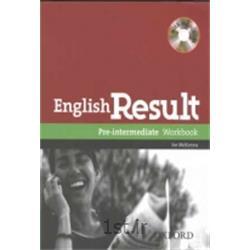 عکس آموزش زبانکتاب زبان انگلیسی English Result pre-intermediate Workbook + CD