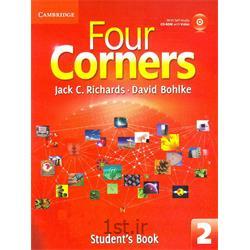کتاب و سی دی آموزشی زبان انگلیسی  Four Corners 2 Student's Book